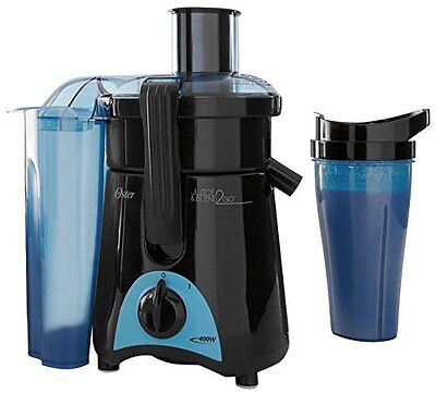 Oster Juice and Blend 2 Go Compact Juice Extractor and Personal Blender FPSTJE31