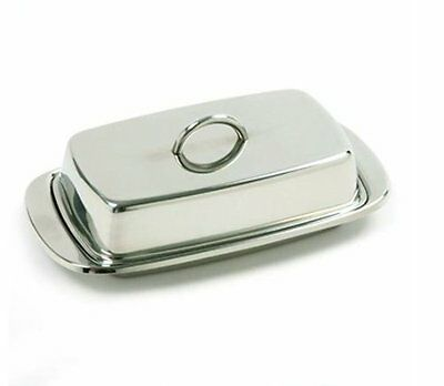 Danesco Covered Butter Dish, Gray