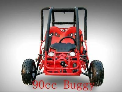 90cc Kids Buggy Offroad Dune Buggy Twin Seat Remote Control Right Hand Drive