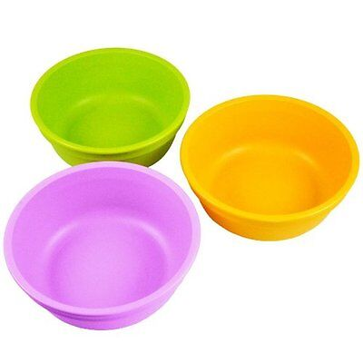 Re-Play Bowls, Purple/Green/Bright Pink, 3-Pack