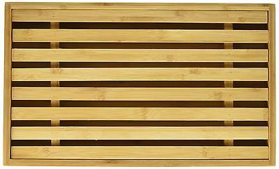 """Natural Living 3020215BA Bamboo Bread Cutting Board with Crumb Catcher, 15 by 9"""""""