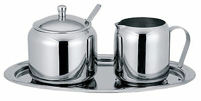 Cuisinox 5-Piece Cream and Sugar Set, Stainless Steel