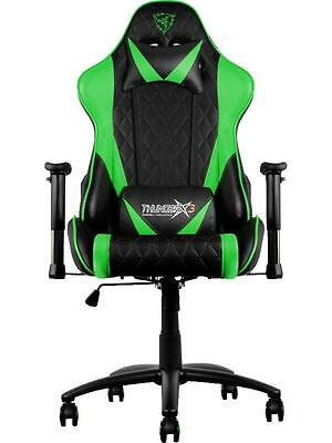 ThunderX3 TGC15 Series Gaming Chair - Black/Green