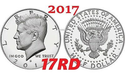 2017 S Proof Kennedy Half Dollar Clad President Gem Deep Cameo direct from Mint