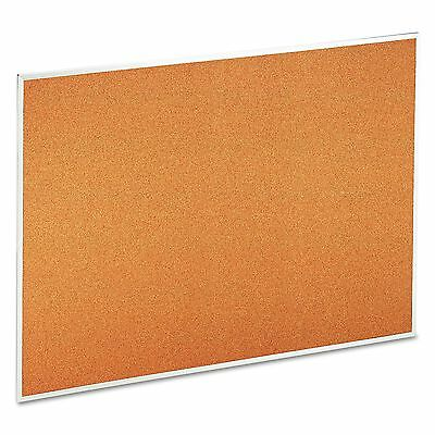 Universal 43614 Bulletin Board  Natural Cork  48 x 36  Satin-Finished Aluminum