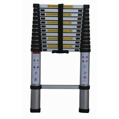 12.5 Foot Telescopic Collapsible Telescoping Extendable Step Ladder for Bus Rv