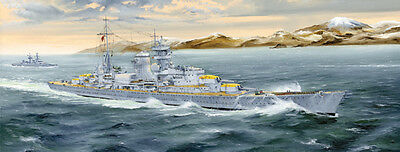 Trumpeter 1/350 05346 German Heavy Cruiser Blucher Plastic Model Warship Kit