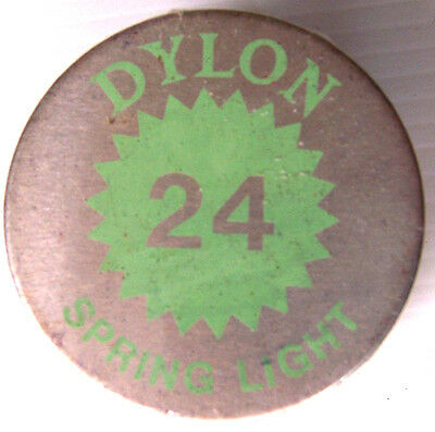 1 X Dylon Fabric Dye # 24 Spring Light (Green) New With Instructions