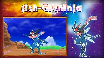 POKEMON ULTRA SUN and Ultra Moon Special Ash Greninja Trade