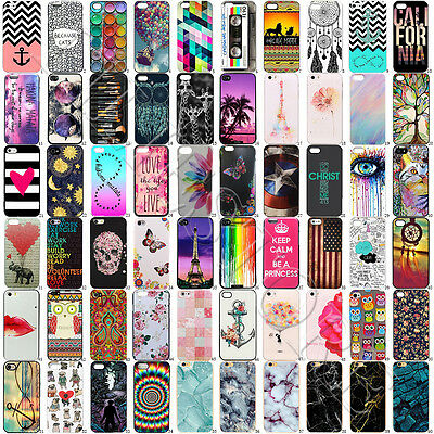 Hot Flower Patterned Funda Carcasa Hard Back Case Cover For iPhone 6 6s 7 Plus