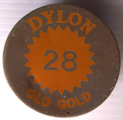 1 X Dylon Fabric Dye # 28 Old Gold New With Instructions