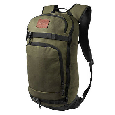 Flow Backcountry Snowboard Backpack Green Nature Explorer Touring Pack 26L