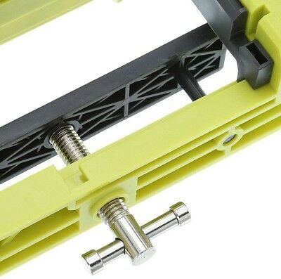 Ryobi door hinge router template adjustable jig clamp hardware ryobi door hinge template clamp installation cut inserts rounded square corners maxwellsz