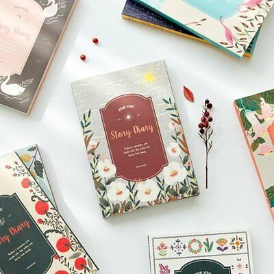 2017 POUR VOUS Story Diary Undated Korean Sticker Journey planner schedule