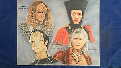Star Trek Limited Edition Print Enemies Of The Federation