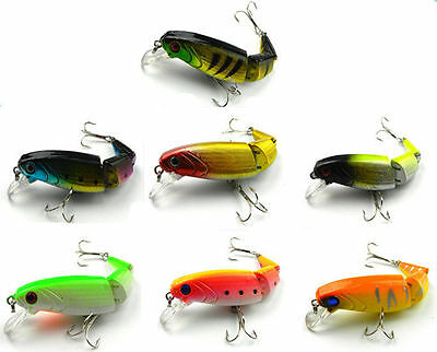 Minnow Fishing Lures Baits  Tackle Bass Crankbait  Kinds Of Fish Hooks