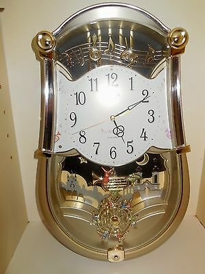 Small World Rhythm Wall Clock (CARNIVAL) GOOD USED CONDITION - PLAYS 6 TUNES
