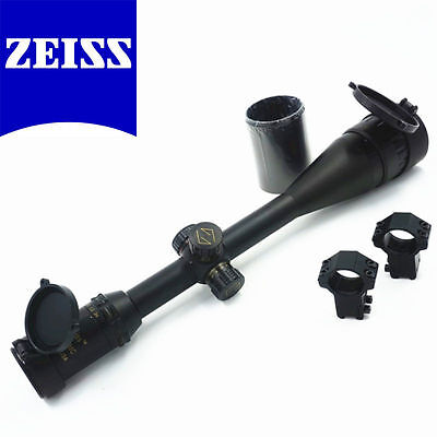Carl Zeiss Conquest Hunting Rifle scope 6-24x50 R&G illuminated With 20mm Rings