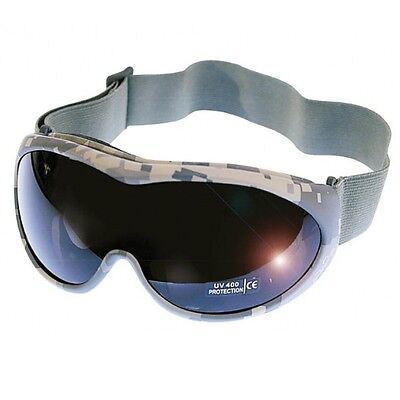 Tactical Sport Glasses UV400 Schutz Goggles Safety Airsoft Brille, AT-digital