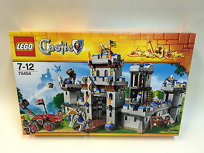 New Sealed LEGO Castle 70404: King's Castle Rare Discontinued