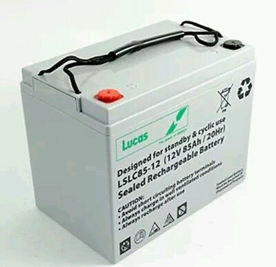 *23%7 Lucas 85AH Battery for Mobility Scooter, Wheelchair Golf Buggy (75ah)