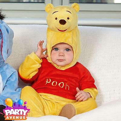 Disney Baby Winnie the Pooh Romper with Hood 3-6mths - Toddler Babies Costume