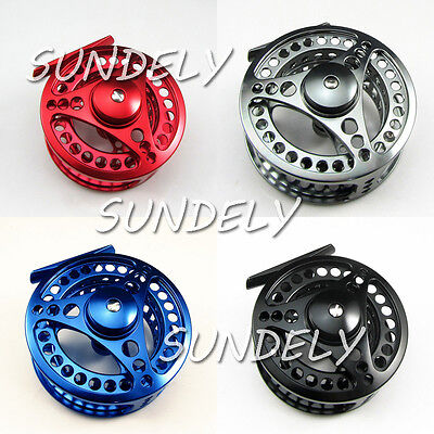 85mm 95mm 5/6 7/8 Aluminum Fly Fishing Reel Trout Fishing Left or Right Handed