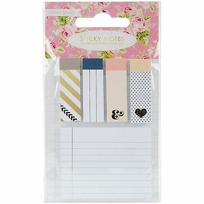 Color Crush - Sticky Notes With Foil Accents by Webster's Pages