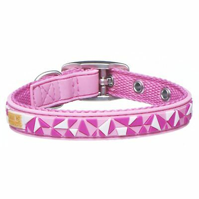 Gummi Pet Products Federation Pink Kitten Collar Pattern Rubber Quality Bell
