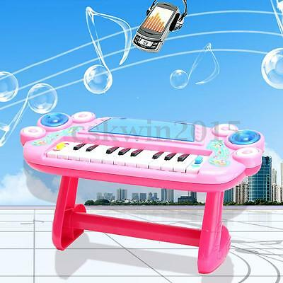 Kids Childrens Electronic Keyboard Piano Early Education Toy Toddler Development