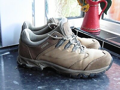 Light Brown Meindl Hiking Shoes Size Uk 7