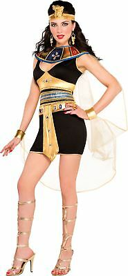Ladies Sexy Cleopatra Beauty Fancy Dress Costume Egyptian Goddess 8-10