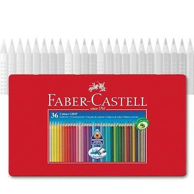 Colour GRIP Farbstifte 36er Faber-Castell 112435 Metalletui