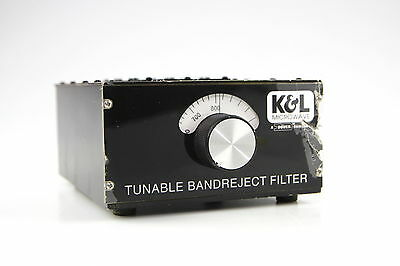 K&L 3TNF-500/1000-N/N Tunable Notch Bandreject Microwave Filter 500-1000 MHz #2