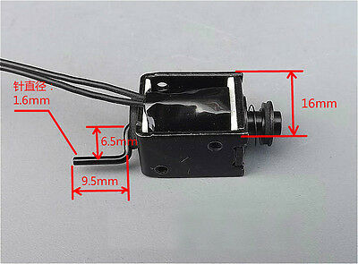 NEW Micro electromagnets Electromagnet Through type  Push-pull type DC 24V Hot