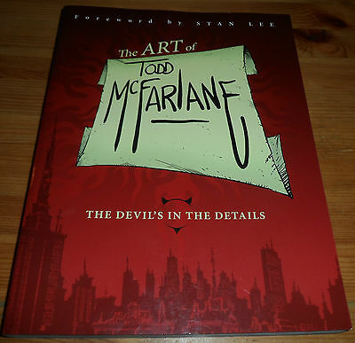Paperback Book 2012 The Art Of TODD MCFARLANE Foreword By Stan Lee IMAGE Comics