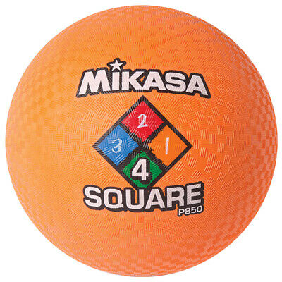 Mikasa P850-Orange 4 Square Modell Ball Dodgeball Völkerball Pro7 Meisterschaft