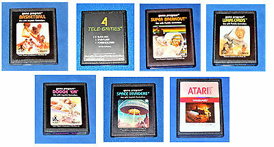 Vintage. Atari 2600 Games. All Working. Many To Choose From. Usa Seller.