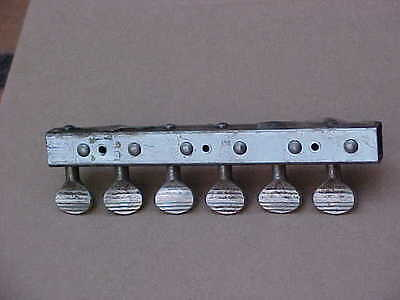 Vintage 1960s Silvertone 1457 1448 Skate Key Tuners Parts as is
