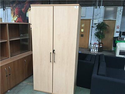 sven christiansen beech storage wardrobe office cupboards
