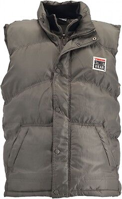 Vision Street Wear Mens Gilet Filled Skate Vest Skateboarding - KHAKI GREEN