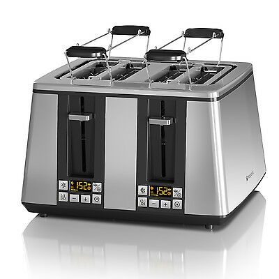 Hotpoint Ultimate Collection TT44EUP0UK Toaster - Stainless Steel