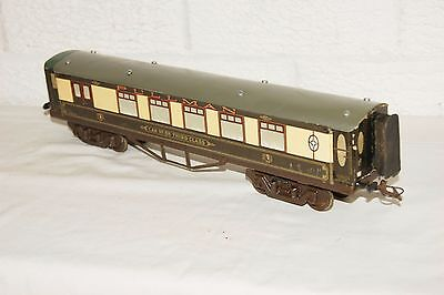 O gauge LMC Leeds Model Company Pullman Coach Car no. 88 3rd class Overlay Type