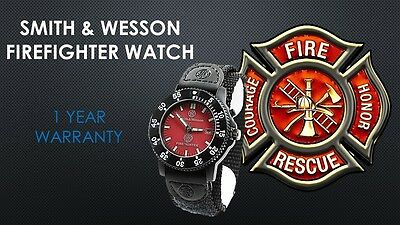 Smith And Wesson Fire Rescue Firefighter Watch