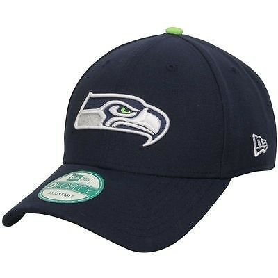 Seattle Seahawks New Era 9Forty Adjustable Cap - Navy