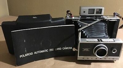 Polaroid Land 250 Camera Zeiss Shutter Tested Custom AAA Conversion Manual