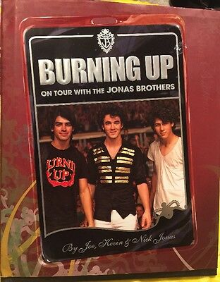 Burning Up on Tour with the Jonas Brothers (2008) Hard Cover First Edition