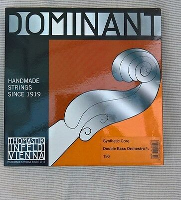 Dominant 196 3/4 Double Bass String Set
