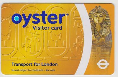 2007- FIRST LONDON VISITOR  TFL Oyster card - TUTANKHAMUN - NOT VALID FOR TRAVEL