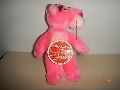 Pink Panther Small Plush Toy Used With Tag FREE SHIPPING